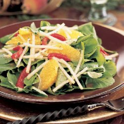 Watercress, Jícama, and Orange Salad recipe