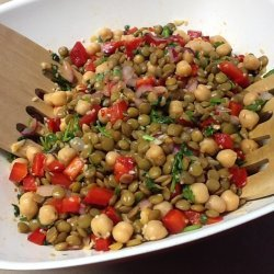 Spicy Chick-Pea Salad