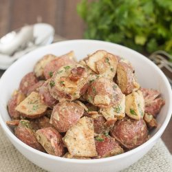 Two-Potato Salad with Mustard Dressing
