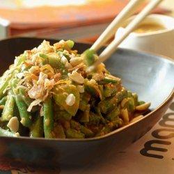 Snow Pea and Green Bean Salad