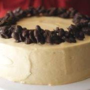 Chocolate Cluster-peanut Butter Cake
