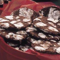 Kriss Kringle Fudge Cookies recipe
