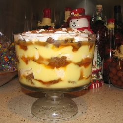 Gingerbread Caramel Trifle