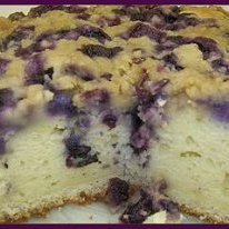Easy And Delicious Mountains Blueberry Cake