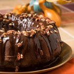 Pumpkin Cake With Buttered Rum Glaze recipe