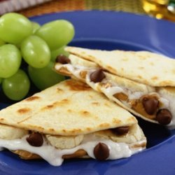 Chocolate Quesadillas recipe