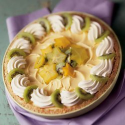 Tropical Breeze Ice Cream Pie