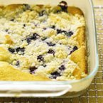 Baked Blueberry Dessert