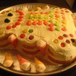 Birthday Marshmellow Cake recipe