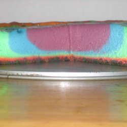 Fruitloops Rainbow Cheesecake recipe