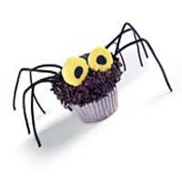 Hairy Daddy Longlegs Cupcakes recipe