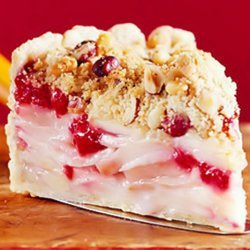 Apple-cranberry-hazelnut Pie recipe