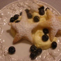 Blueberry And Custard Filled Stars Good Company Fo...