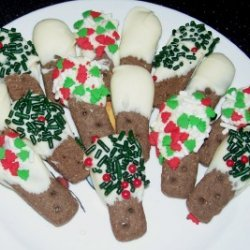 Dipped Chocolate Graham Sticks