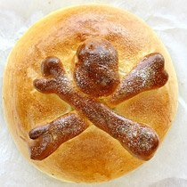 Day Of The Dead Bread-- Pan De Muertos