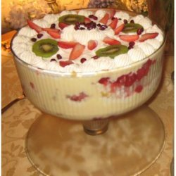 Real English Christmas Trifle For 20