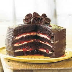 Easy Black Forest Cake recipe