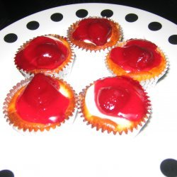 Mini Cheesecakes Cupcake Size