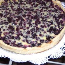 Tart Lemon Blueberry Custard Tart