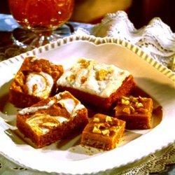 Pumpkin Butterscotch Fudge Bars From Carnation And...