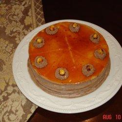 Dobos Tort - Caramel Chocolate Cake