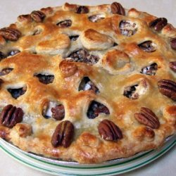 Prize Winning Apple Sour Cream Pecan Pie recipe