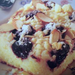 Cherry  Almond Coffee Cake recipe