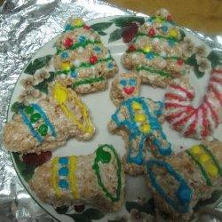 Elaines Rice Krispies Christmas Goodies