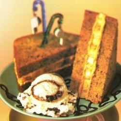 Peanut Butter-banana Sandwich Cake