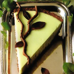 Creme De Menthe Cheesecake  Fun For St Patricks Da... recipe
