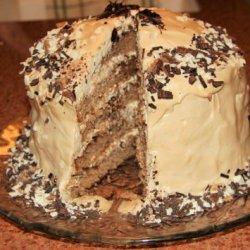 Toffee-tiramisu Layer Cake recipe