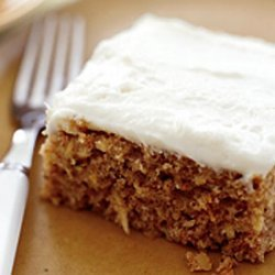 Parsnip Spice Cake With Ginger Cream Cheese Frosti...