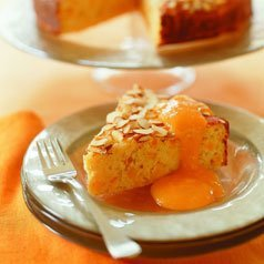 Apricot Ricotta Cake - Gluten Free