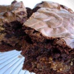 Mascarpone - Peanut Brownies