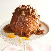 Sticky Pecan Upside Down Baby Cakes