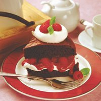 Chocolate-raspberry Cake recipe