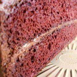 Maroon Chocolate Cake recipe