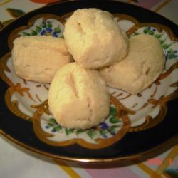 Turkish Shortbread Cookies Un Kurabiyesi