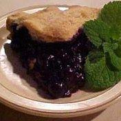 The No Fail Blueberry Pie