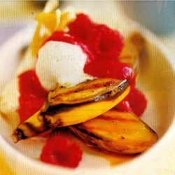 Grilled Banana Splits recipe