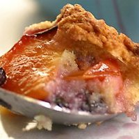 Blueberry And Nectarine Cobbler