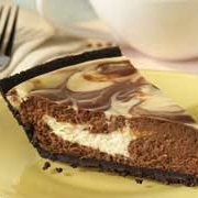Philadelphia Chocolate Vanilla Swirl Cheesecake
