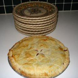 Blackberry Chocolate Chip Pie W Buttery Crust