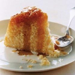 Steamed Golden Syrup Spongecake