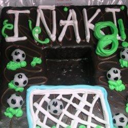 Soccer Chocolate Cake
