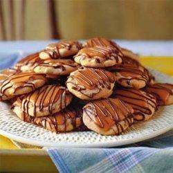 Peanut Butter Toffee Turtle Cookies