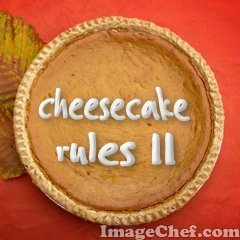 Cheesecake Rules I I recipe