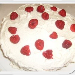 Berry Surprise Cake
