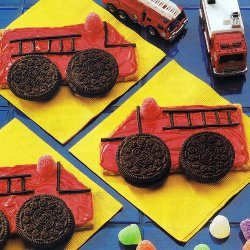 Fire Truck Cookies  No Baking recipe
