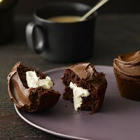 Coconut-cream-filled Chocolate Cupcakes